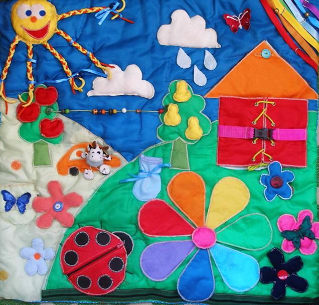 Развивающий коврик для детей своими руками фото 896
